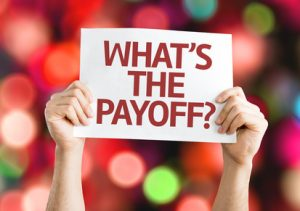 digital marketing strategy - what's the payoff?