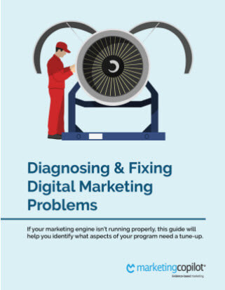 diagnosing and fixing digital marketing problems