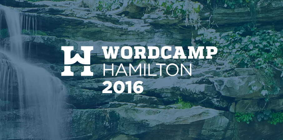 Join us June 4th at WordCamp Hamilton 2016