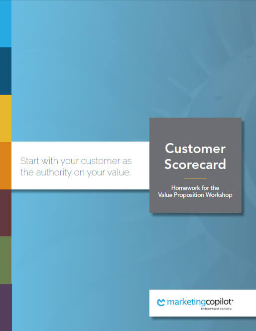 customer scorecard workbook