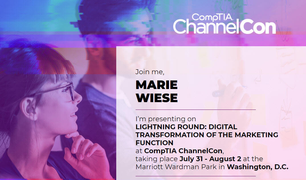 Marketing CoPilot to speak and exhibit at CompTIA ChannelCon 2018