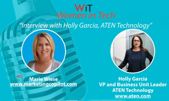 eChannelNEWS Women In Tech Podcast with Holly Garcia and Marie Wiese
