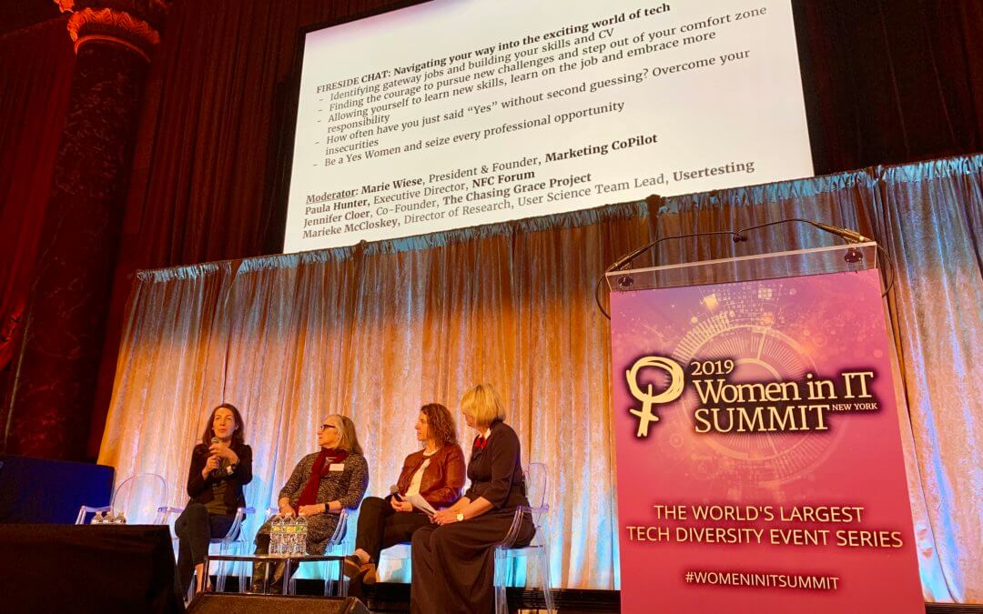 A day of inspiration and learning at Women in IT Summit, NYC